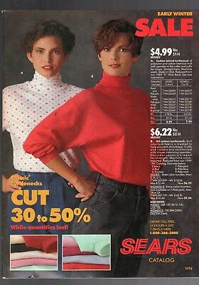 1990 Sears Early Winter Sale Catalog--Complete-76 Pages-Very Rare