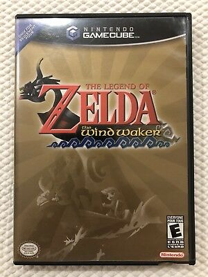 The Legend of Zelda The Wind Waker ( Nintendo Gamecube )Complete W/Case & Manual