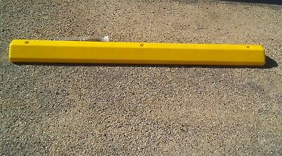 Parking Stops , Curbs 6' Recycled Plastic Yellow
