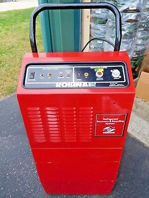 Robinair Refrigerant Recovery & Recycling Station Model 17500