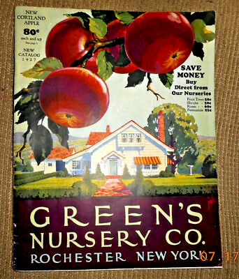 1927 Green's Nursery Co Rochester Ny Catalog Letter From President & Sales Offer