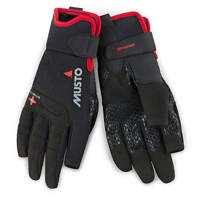 Gants De Voile Musto Performance Long Finger - 2018 - Noir