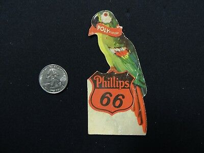 PHILLIPS 66 GASOLINE - Polymerized - Parrot  DECAL