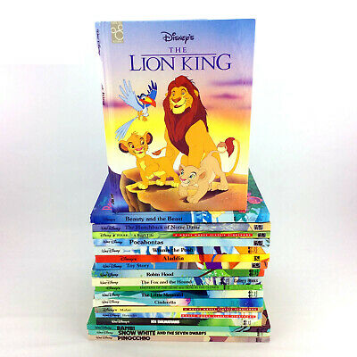 Lot 46 Walt Disney Books Classic Storybook Collection Mouse Works Twin Gallery