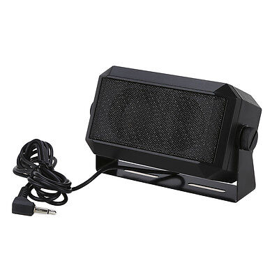 RoadPro RPSP-15 External CB Car Mobile Radio Speaker 3.5mm Interface for Kenwood