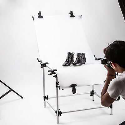 60x130cm Portable Shooting Table Still Life Product Photo Photography Lighting
