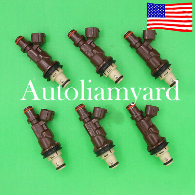 OEM 842-12251 Fuel Injector 23250-62040 For Toyota Tacoma Tundra 4Runner 3.4L V6