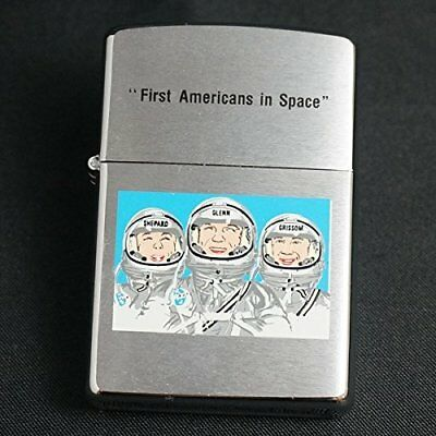 Zippo First Americans In Space 1996 Year Production From Japan
