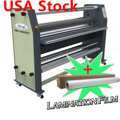"US Stock! 110V Ving 63"" High End Full - auto Wide Format Hot Laminator"