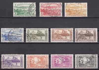NEW HEBRIDES (FR) - 1957 - Indigenous Images. Complete set, 11v. Fine used