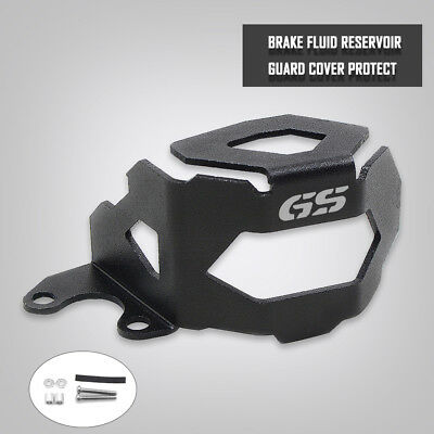Black Front Brake Fluid Reservoir Guard Protector Cover For BMW F800GS F700GS