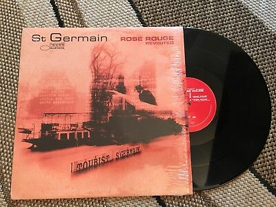 "St Germain - Rose Rouge Revisited 12"" Vinyl Blue Note Rec. 2000"