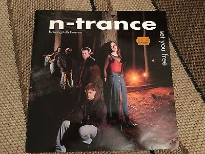 "N-Trance - Set You Free 12"" Vinyl Feat. Kelly Llorenna"