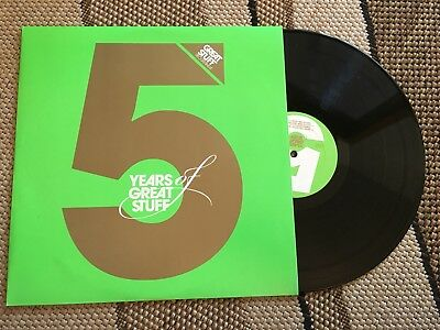 "5 Years Of Great Stuff 12"" Vinyl 2008 Great Stuff Rec."