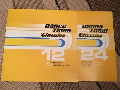 Dance Train Classics - Doppel Vinyl Faithless, Dee Lite, David Morales, Olive