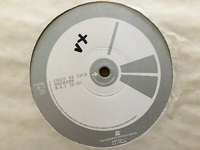 "Chris De Luca - Unknown EP 12"" Vinyl 1998 Musik Aus Strom"