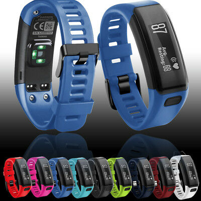 Replacement Silicone Bracelet Band Strap WristBand Lot For Garmin Vivosmart HR