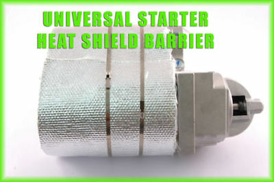 Holden V8 308 STARTER MOTOR HEAT SHIELD Blanket Insulating Kit Protection Wrap