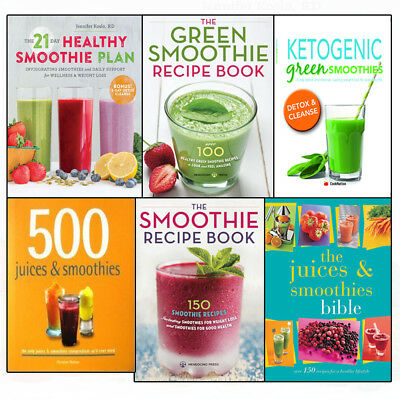Ketogenic Healthy Green Smoothie Compendium for weight loss 6 Book Collection