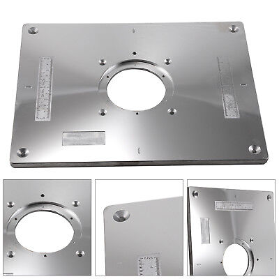 New aluminum router table insert plate 235x300x8mm with ring for new aluminum router table insert plate 235x300x8mm with ring for woodworking uk greentooth Gallery