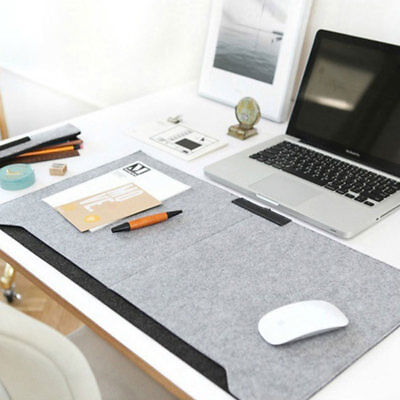 Large Size Mouse Pad Computer Desk Table Felt Mat Holder Laptop Cases Cushion