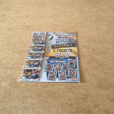 Ww Slam Attax Live Trading Card Multi Pack Includes Silver Limited Edition Card