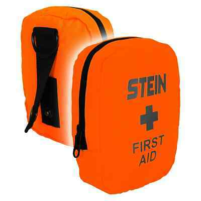 Climbers First Aid Kit - Flo Orange for Forestry, Arborist and Tree surgery