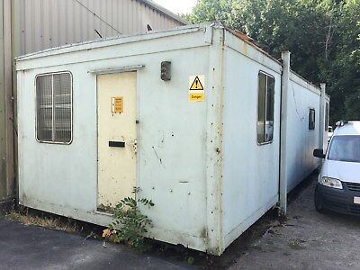 Used Portacabin Office Storage Block 38ft x 13ft! Good Condition! Have a Look!