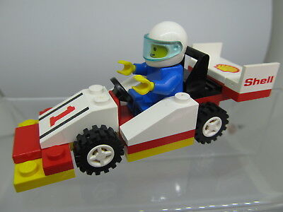 Lego Classic Town Race Instructions Only From Indy Transport 6335