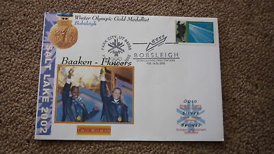 2002 Winter Olympic Gold Medal Win Cover, Usa Womens Bobsleigh Team