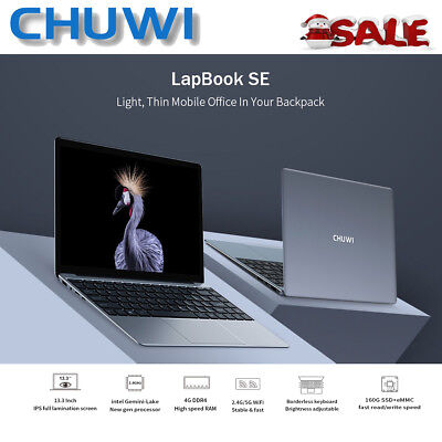 "JUMPER EZbook2 PC Netbook 14.1"" Intel Windows10 4/64GB Kamera BT Laptop 10000mAh"