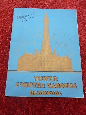 Blackpool Combined Programme Tower & Winter Gardens 1936 King Fun George Formby