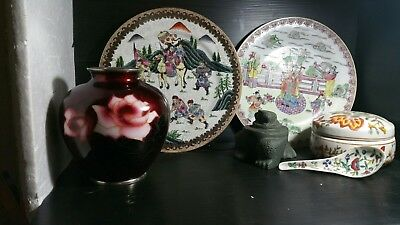 6 peices of chinese collectables items