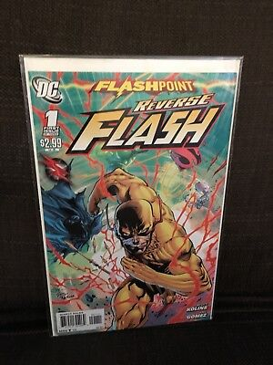 Flashpoint Reverse Flash One Shot NM DC
