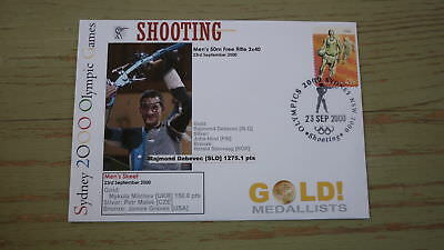 2000 Olympic Games Gold Medal Win Cover, Slovakia Shooting Event Gold, Debevec