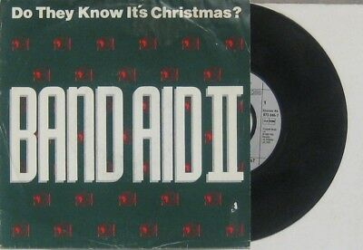 """Band Aid  do they know its christmas / Instrumental , 7"""" 45"""