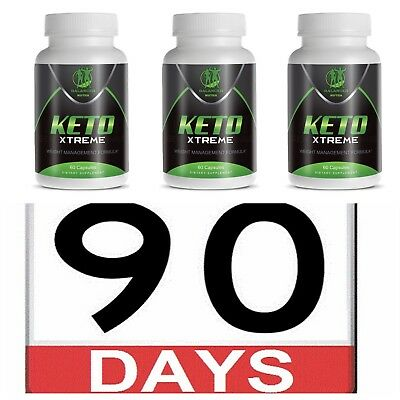Keto Diet Pills Keto xtreme Best Weight Loss Carb Blocker Fat Burner 90 Day Pack
