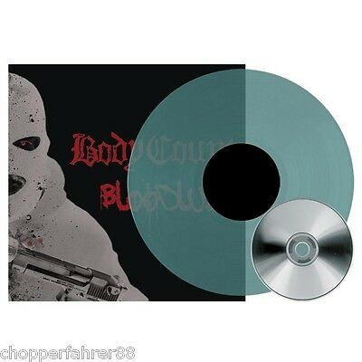 Body Count - Bloodlust LP, transparent Petrol-Green Vinyl (incl. CD) | lim. 200