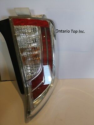 2012-2015 Toyota Prius Left Driver Side Tail Light With Led Oem