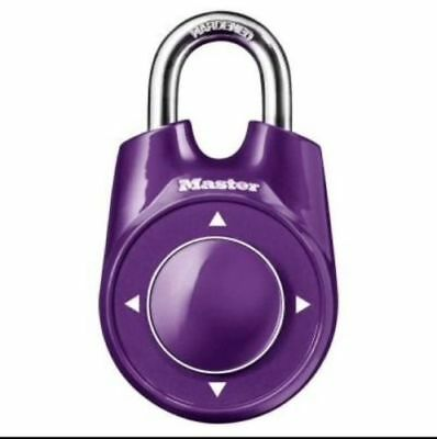 MASTER LOCK Speed Dial Combination Lock Security Padlock 1500iD (various colors)