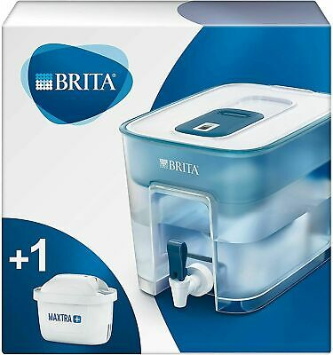 BRITA Flow Maxtra+ 8.2L Water Dispenser Optimax Fridge Filter Jug & 1 Cartridge