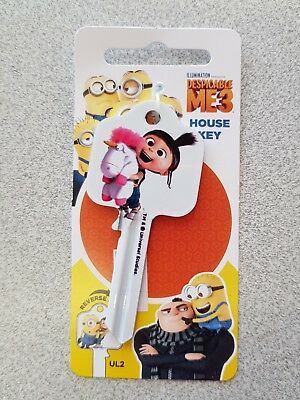 Despicable Me 3 Agnes UL2 Universal Key Blank