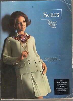 1969 Sears Fall & Winter Catalog-Complete-1634 Pages-Very Rare