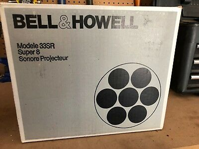 Bell and Howell Model 33SR Super 8 Projector (Good condition)