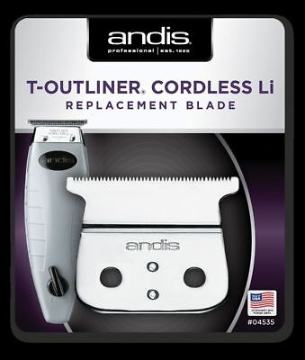 ANDIS CORDLESS T-OUTLINER Li REPLACEMENT BLADE - 04535