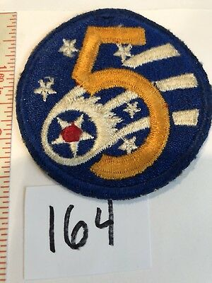 5th Air Force /  Army Air Force /  Original / USAAF Stock # 164