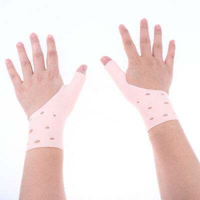 Bulk Lot of 10 Pairs Silicone Gel Thumb Wrist Support Gloves Arthritis Wraps