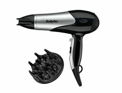 Babyliss New Professional Hair Dryer, Style Pro Black 2100W Salon Hairdryer