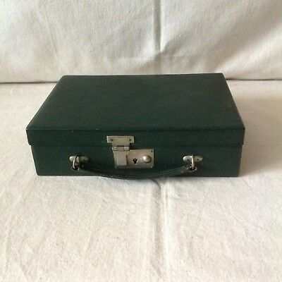 Handsome Antique Ladies Travelling Case By Selfridge & Co