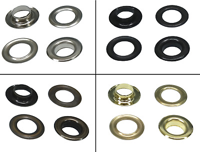 Istatools Eyelets 3mm - 17mm (Steel Sheet),Rivets for Leather,Fabric,Plane,Press